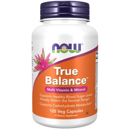 Капсульні вітаміни NOW TRUE BALANCE MULTI мультивітамінний комплекс у капсулах, 120 шт
