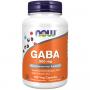 Капсульні вітаміни NOW GABA 500мг у капсулах, 100 шт